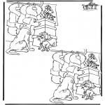 Håndarbejde - 10 differences 1