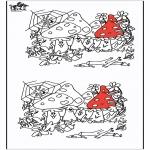 Håndarbejde - 10 differences - Autumn