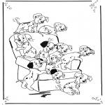 Sjove figurer - 101 Dalmatians 1