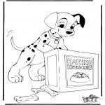 Sjove figurer - 101 Dalmatians 6