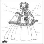 Diverse - 19th century lady 1