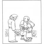 Bibel-malesider - 5 bread and 2 fish 1