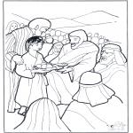 Bibel-malesider - 5 bread and 2 fish 3