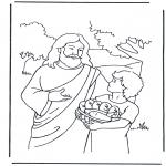 Bibel-malesider - 5 bread and 2 fish 4