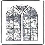 Bibel-malesider - 5 wise and 5 foolish girls