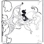 Sjove figurer - Aladdin 1