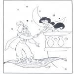 Sjove figurer - Aladdin 10