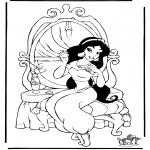 Sjove figurer - Aladdin 7