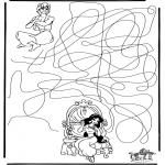 Håndarbejde - Aladdin labyrinth