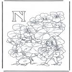 Diverse - Alphabet N
