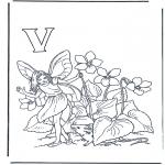 Diverse - Alphabet V