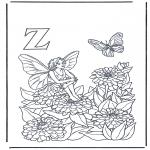 Diverse - Alphabet Z