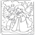 Jule-malesider - Angel and boy