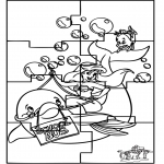 Håndarbejde - Ariël puzzle