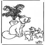 Sjove figurer - Aristocats 2