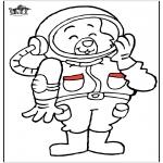 Diverse - Astronaut cat