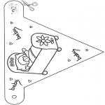 Tema-malesider - Baby flag 1