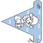 Tema-malesider - Baby flag 2