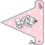 Tema-malesider - Baby flag 3