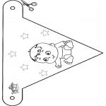 Tema-malesider - Baby flag 4