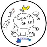 Tema-malesider - Baby - Pricking card 3