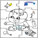 Tema-malesider - Baby puzzle 2