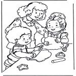 Børne-malesider - Baking