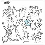 Diverse - Ballet postures