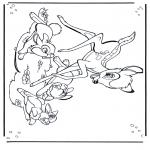 Sjove figurer - Bambi 1