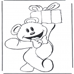 Tema-malesider - Bear with present