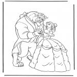 Sjove figurer - Beauty and the Beast 3