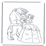 Sjove figurer - Beauty and the Beast 7