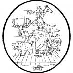 Bibel-malesider - Bibel prickingcard 2