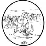 Bibel-malesider - Bibel prickingcard 4