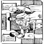 Bibel-malesider - Bible baptism 1