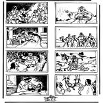 Bibel-malesider - Bible coloring page 3