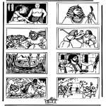 Bibel-malesider - Bible coloring page 5