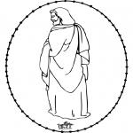 Bibel-malesider - Bible stitchingcard 2