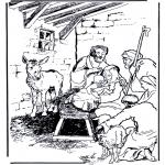 Bibel-malesider - Birth Jesus