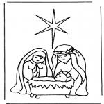Bibel-malesider - Birth of Jesus 1