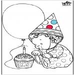 Tema-malesider - Birthday 1 year