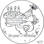 Tema-malesider - Birthday 4 year