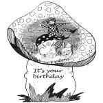 Håndarbejde - Birthday card 1