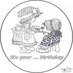 Håndarbejde - Birthday card 2