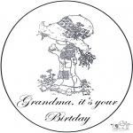 Håndarbejde - Birthday grandma