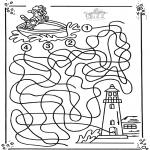 Håndarbejde - Boat labyrinth