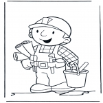 Børne-malesider - Bob the Builder 10