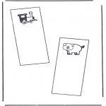 Håndarbejde - Bookmark 1