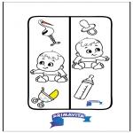 Håndarbejde - Bookmark Baby