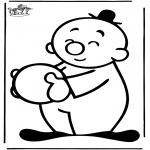 Børne-malesider - Bumba 12